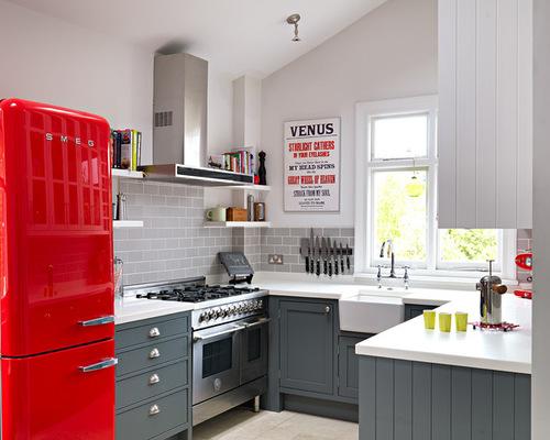 Edgecomb Gray Kitchen ...